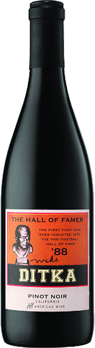 """Mike Ditka """"The Hall of Famer"""" Pinot Noir 2014"""