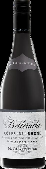 """M. Chapoutier Cotes-du-Rhone """"Belleruche"""" Rouge 2017"""