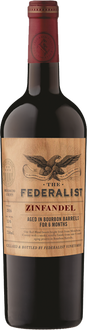 The Federalist Bourbon Barrel-Aged Zinfandel 2016