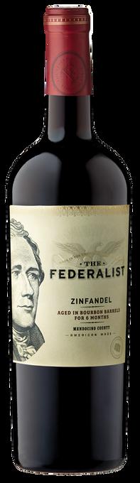 The Federalist Bourbon Barrel-Aged Zinfandel 2016