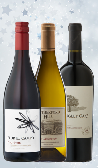 California Wines Gift Trio