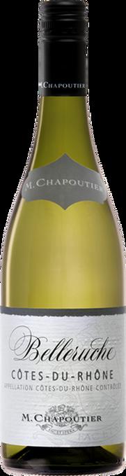"""M. Chapoutier Côtes-du-Rhône """"Belleruche"""" Blanc 2016"""
