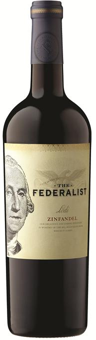 The Federalist Lodi Zinfandel 2015