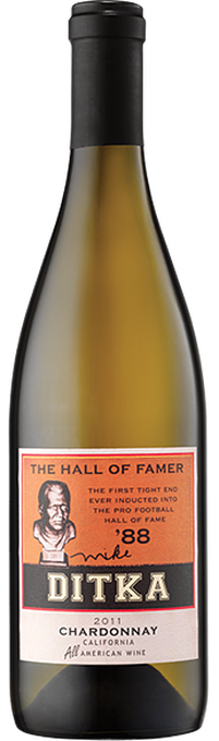 "Mike Ditka ""The Hall of Famer"" Chardonnay 2013"