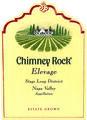 Chimney Rock Elevage Red 2014