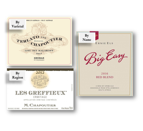 Types of Wine Labels