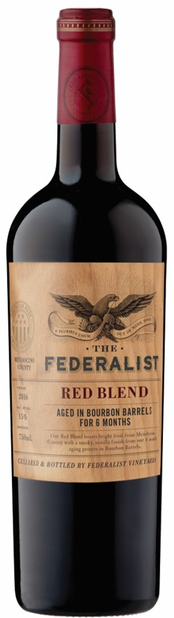 The Federalist Honest Red Blend 2015